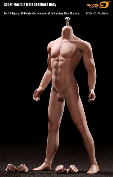 Phicen M31 Male Seamless 1/6 Body Action Figure - Movie Figures - 1