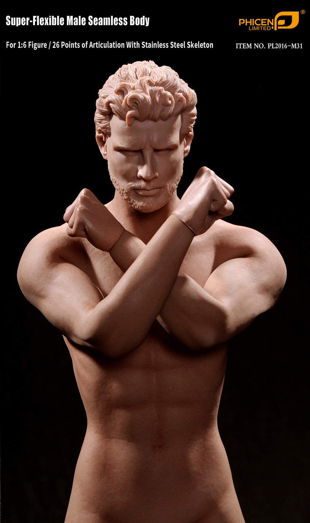 Phicen M31 Male Seamless 1/6 Body Action Figure - Movie Figures - 3