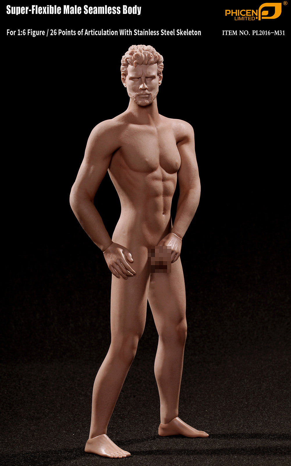 Phicen M31 Male Seamless 1/6 Body Action Figure - Movie Figures - 4