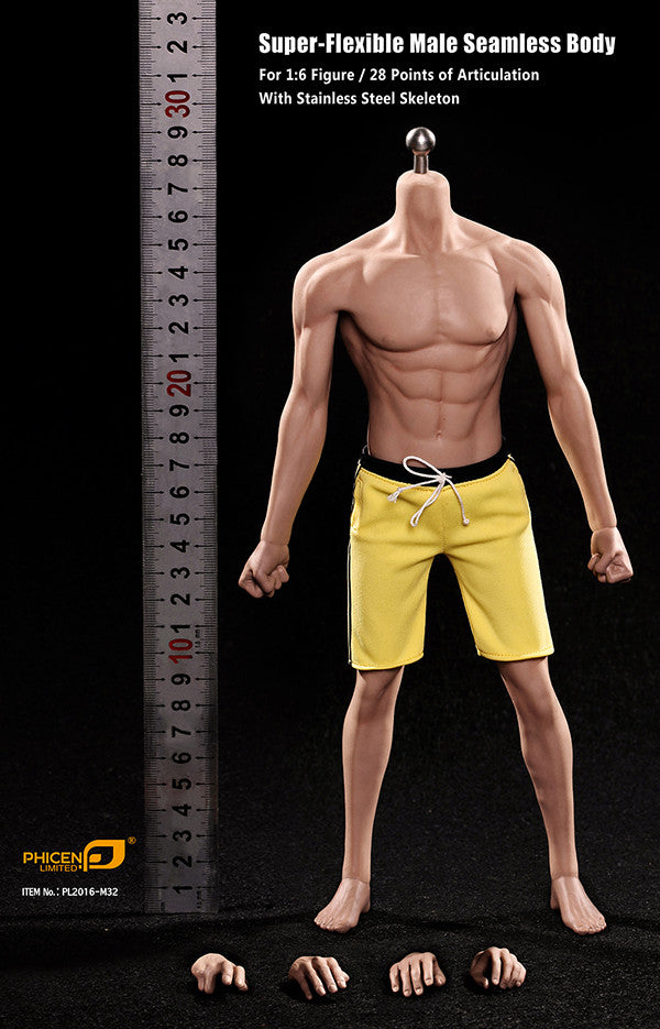 Phicen M32 Asia Male Seamless 1/6 Body Action Figure - Movie Figures - 10