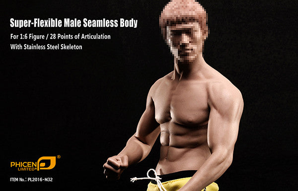 Phicen M32 Asia Male Seamless 1/6 Body Action Figure - Movie Figures - 2