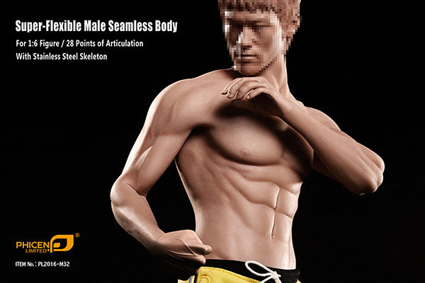 Phicen M32 Asia Male Seamless 1/6 Body Action Figure - Movie Figures - 5