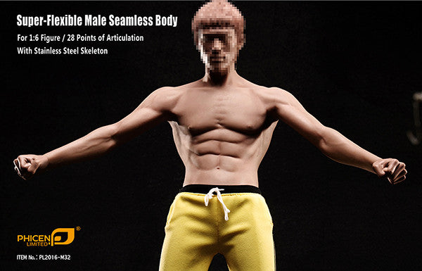 Phicen M32 Asia Male Seamless 1/6 Body Action Figure - Movie Figures - 6