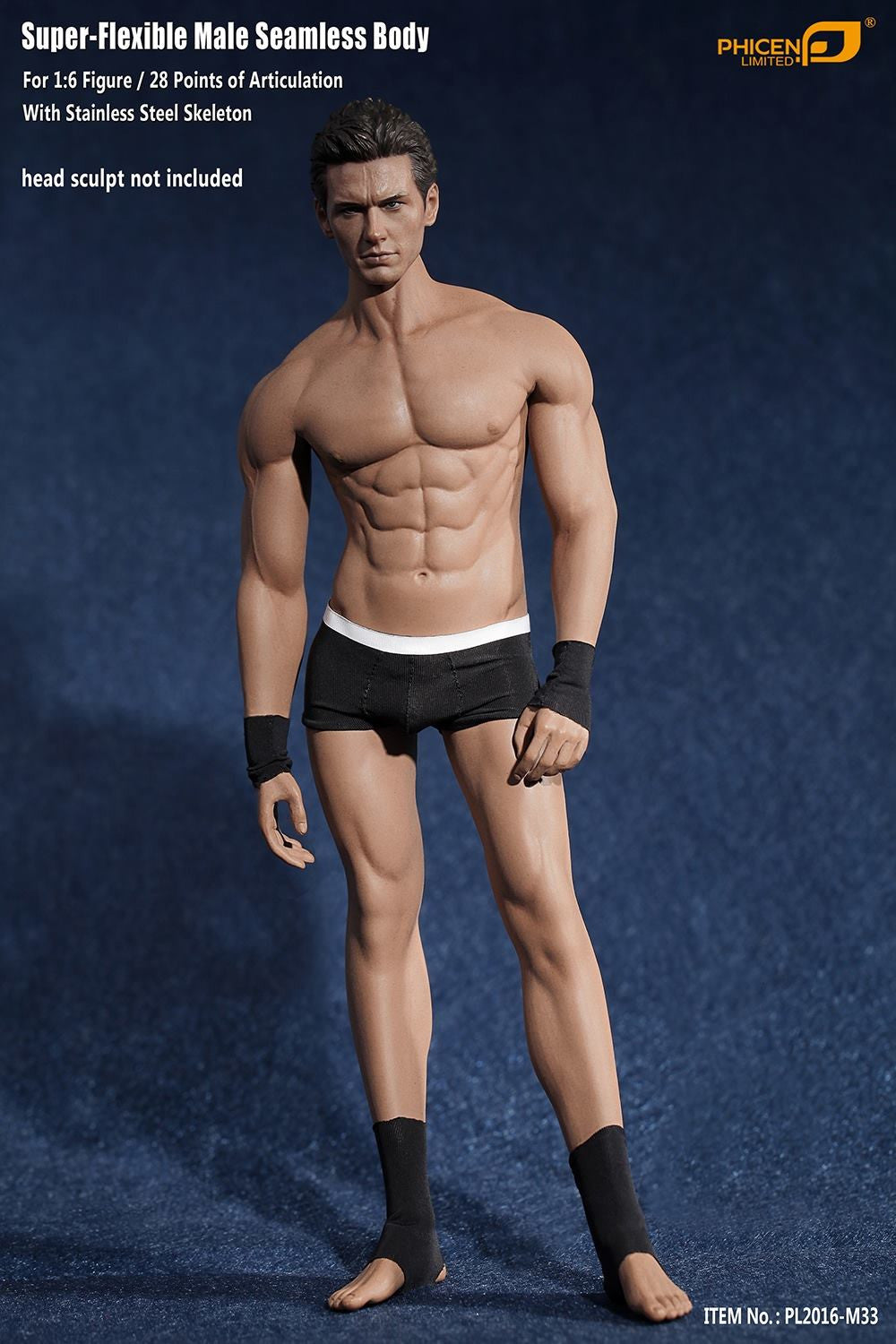 Phicen M33 Male Seamless 1/6 Body Action Figure - Movie Figures - 1