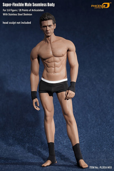Phicen M33 Male Seamless 1/6 Body Action Figure