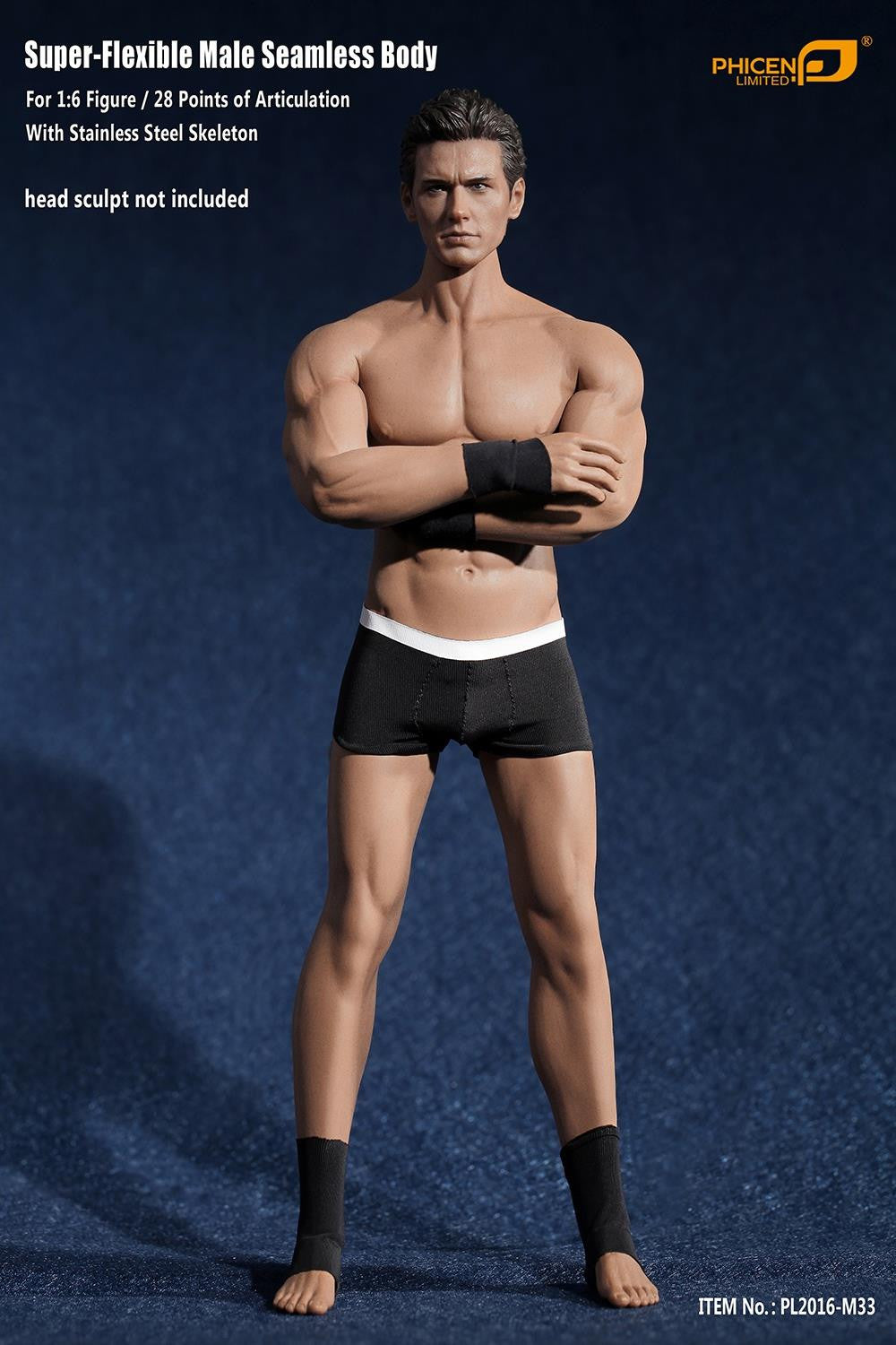 Phicen M33 Male Seamless 1/6 Body Action Figure - Movie Figures - 4