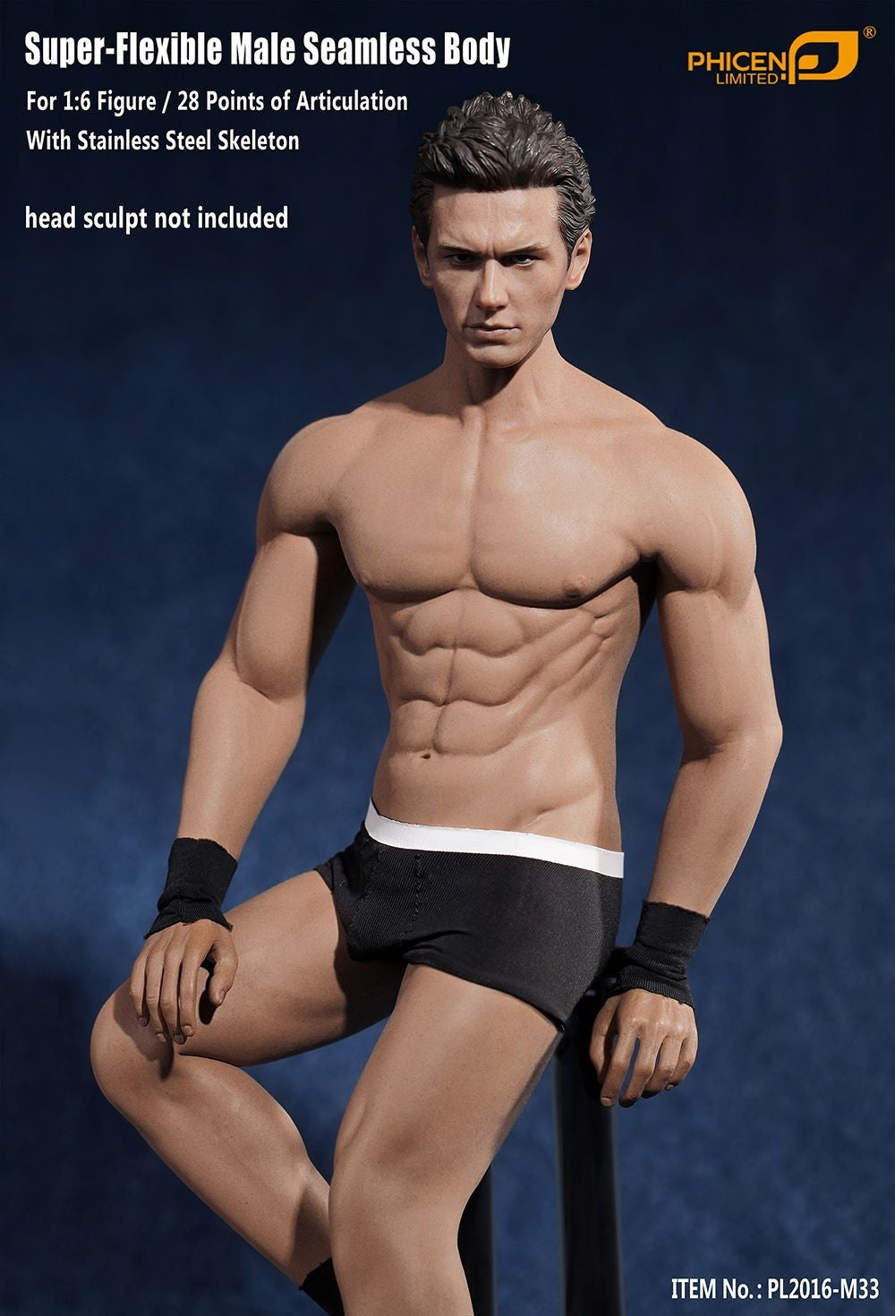 Phicen M33 Male Seamless 1/6 Body Action Figure - Movie Figures - 6