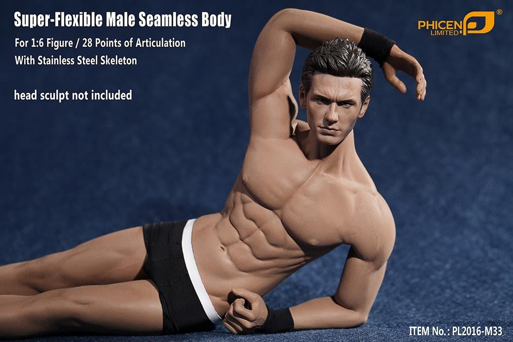 Phicen M33 Male Seamless 1/6 Body Action Figure - Movie Figures - 9