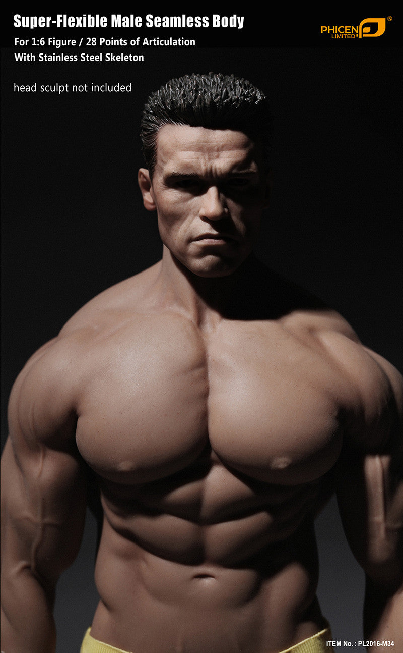 Phicen M34 Male Seamless 1/6 Body Action Figure - Movie Figures - 2