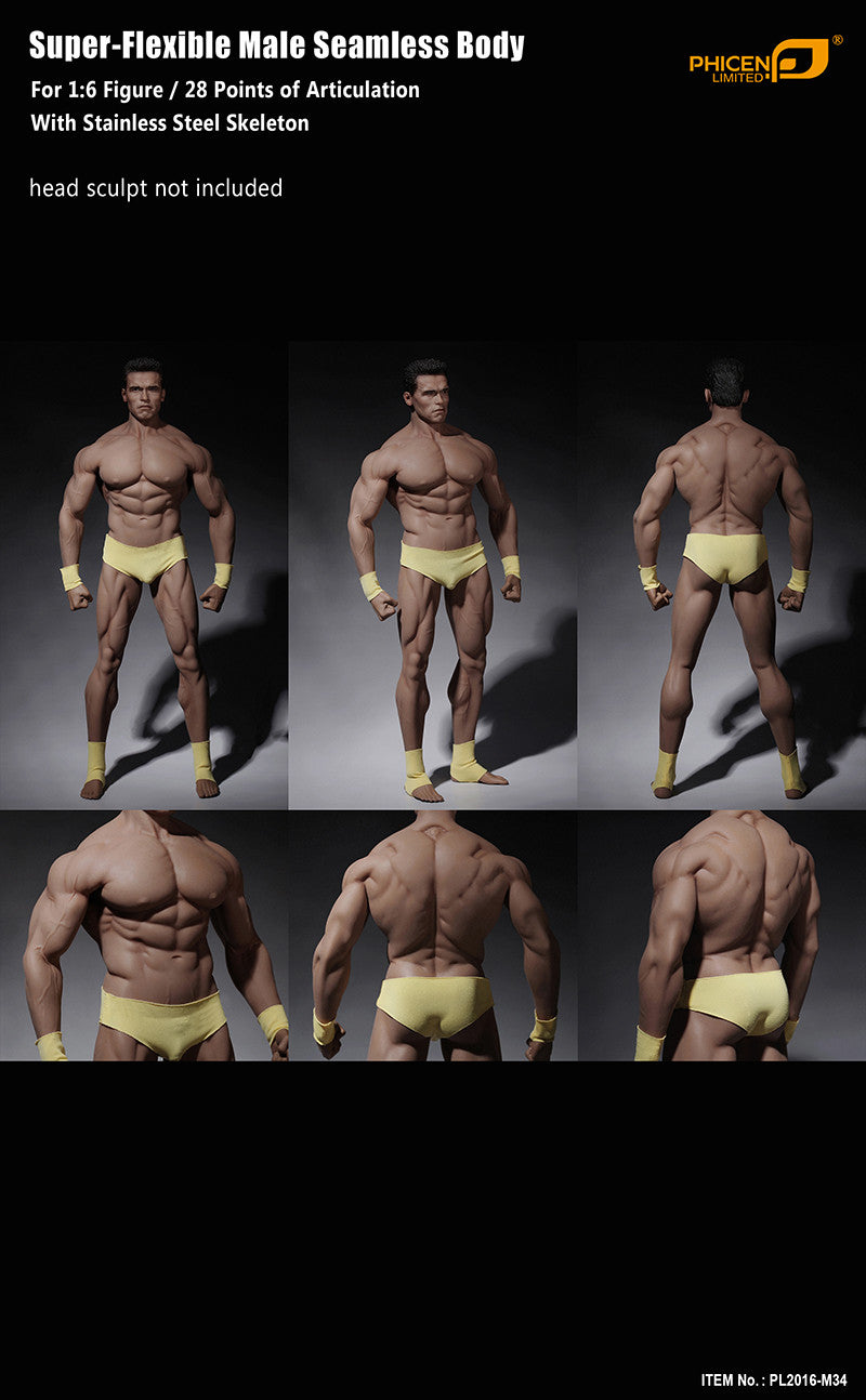 Phicen M34 Male Seamless 1/6 Body Action Figure - Movie Figures - 9