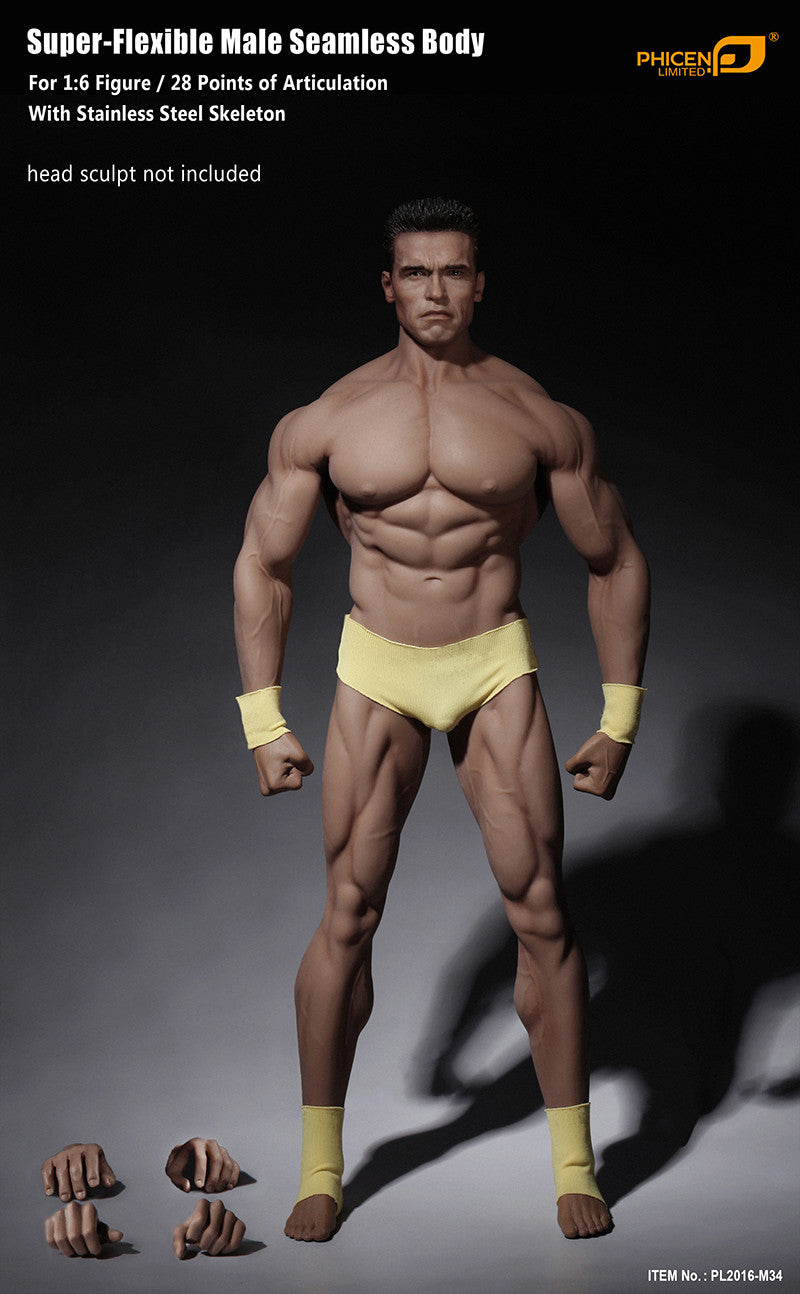 Phicen M34 Male Seamless 1/6 Body Action Figure - Movie Figures - 8