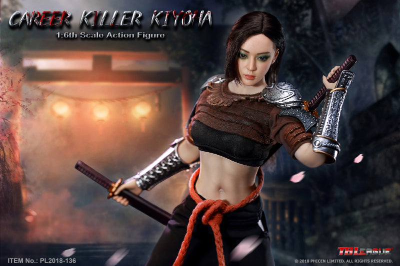 Phicen TBLeague Career Killer Kiyoha 1/6 Action Figure