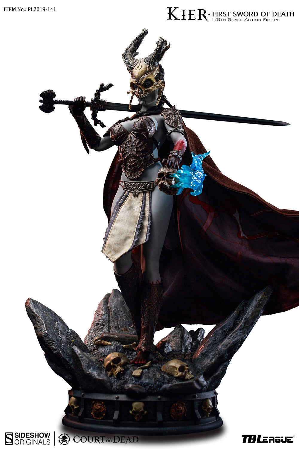 Phicen TBLeague Kier - First Sword of Death 1/6 Action Figure