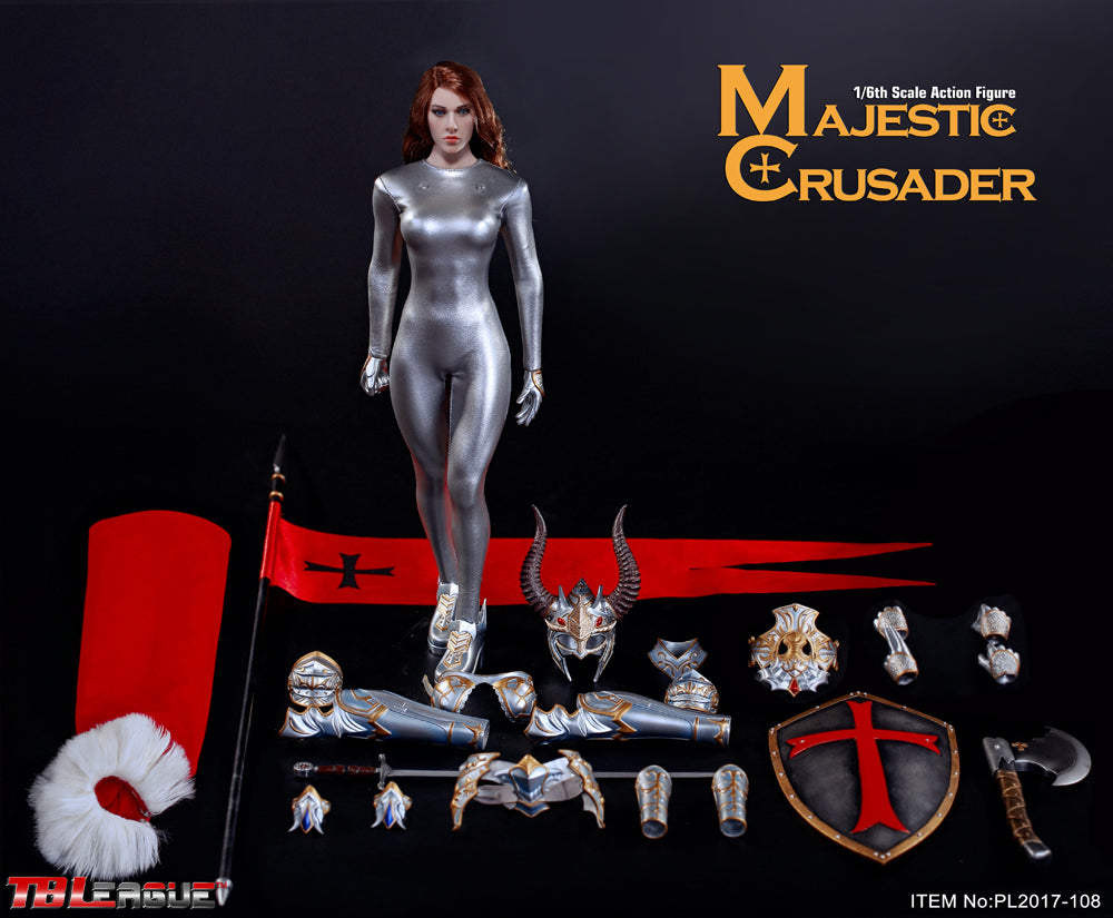 Phicen TBLeague Majestic Crusader 1/6 Action Figure