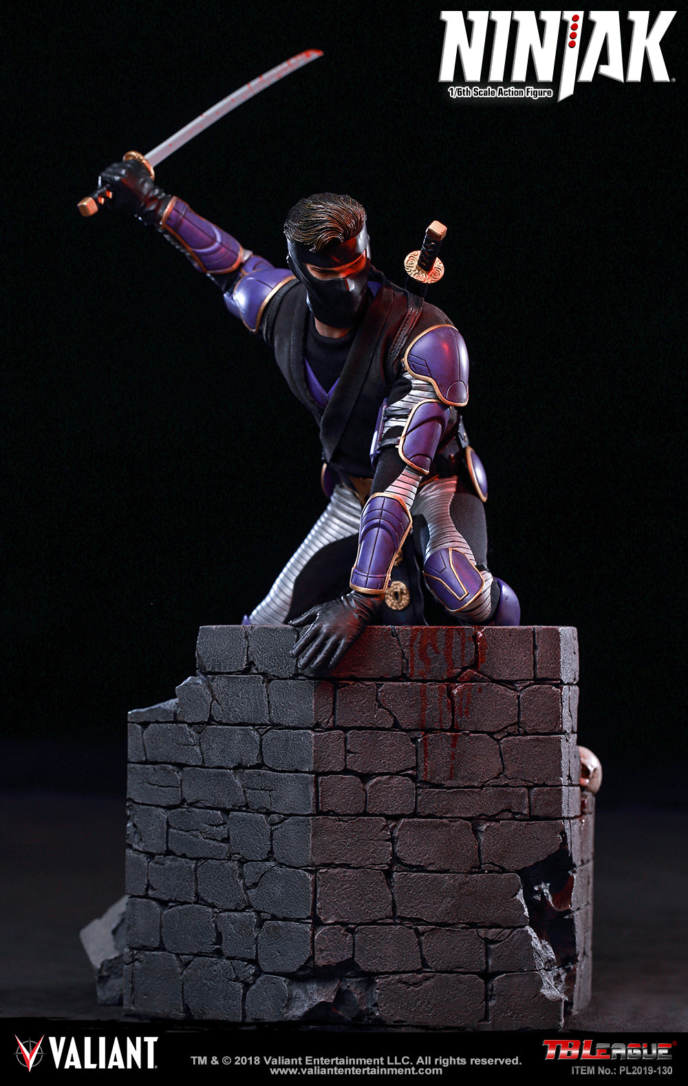 Phicen TBLeague Ninjak 1/6 Action Figure