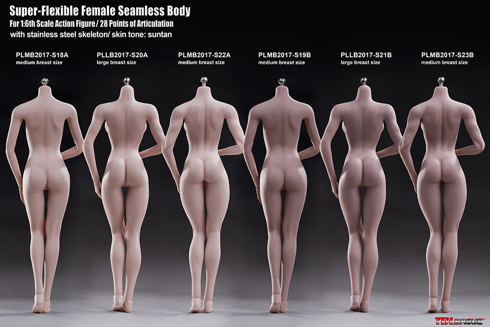 Phicen Limited 1:6 Female Body Pale C-Cup