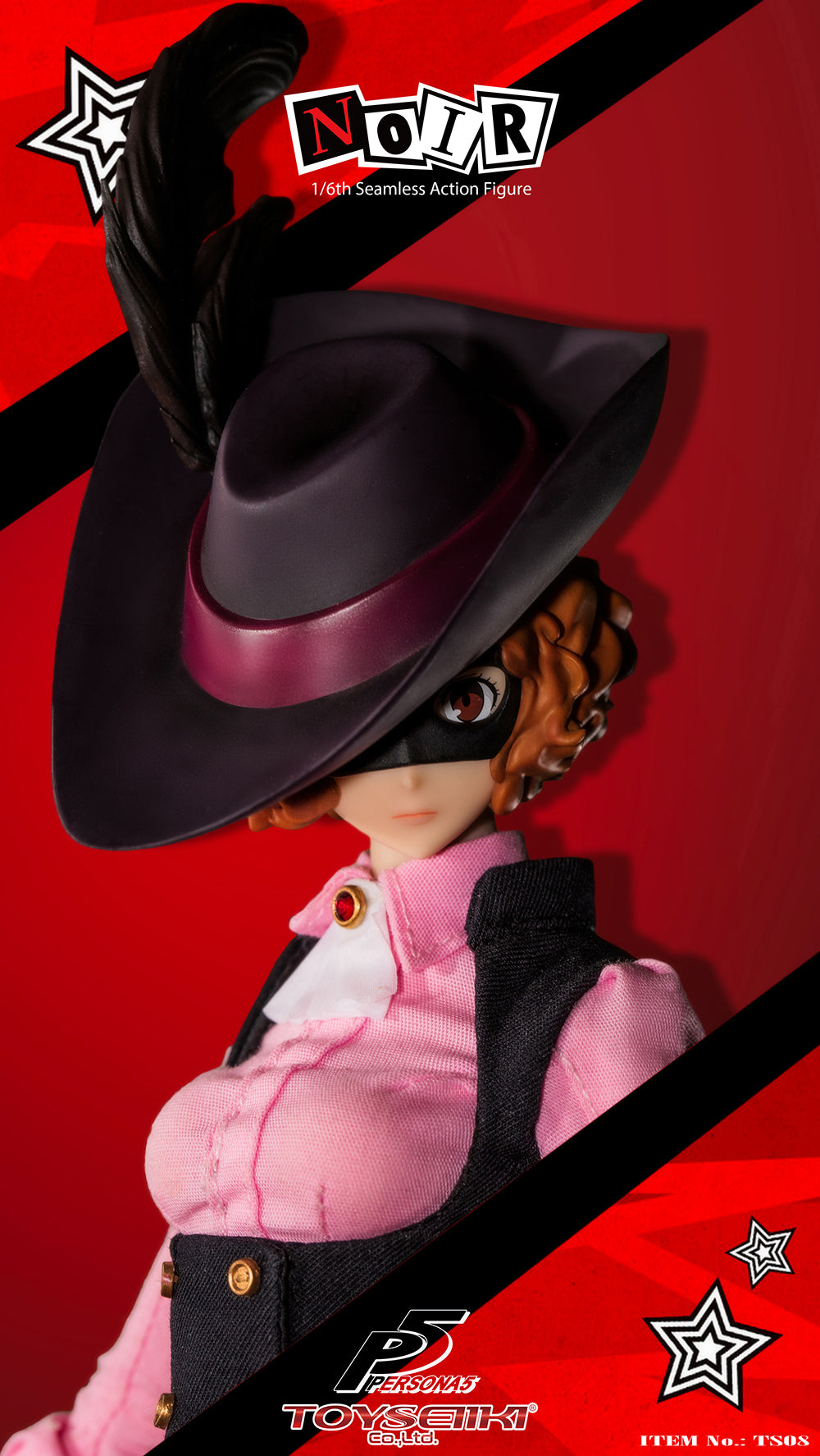 Phicen TBLeague Persona 5 Noir 1/6 Action Figure