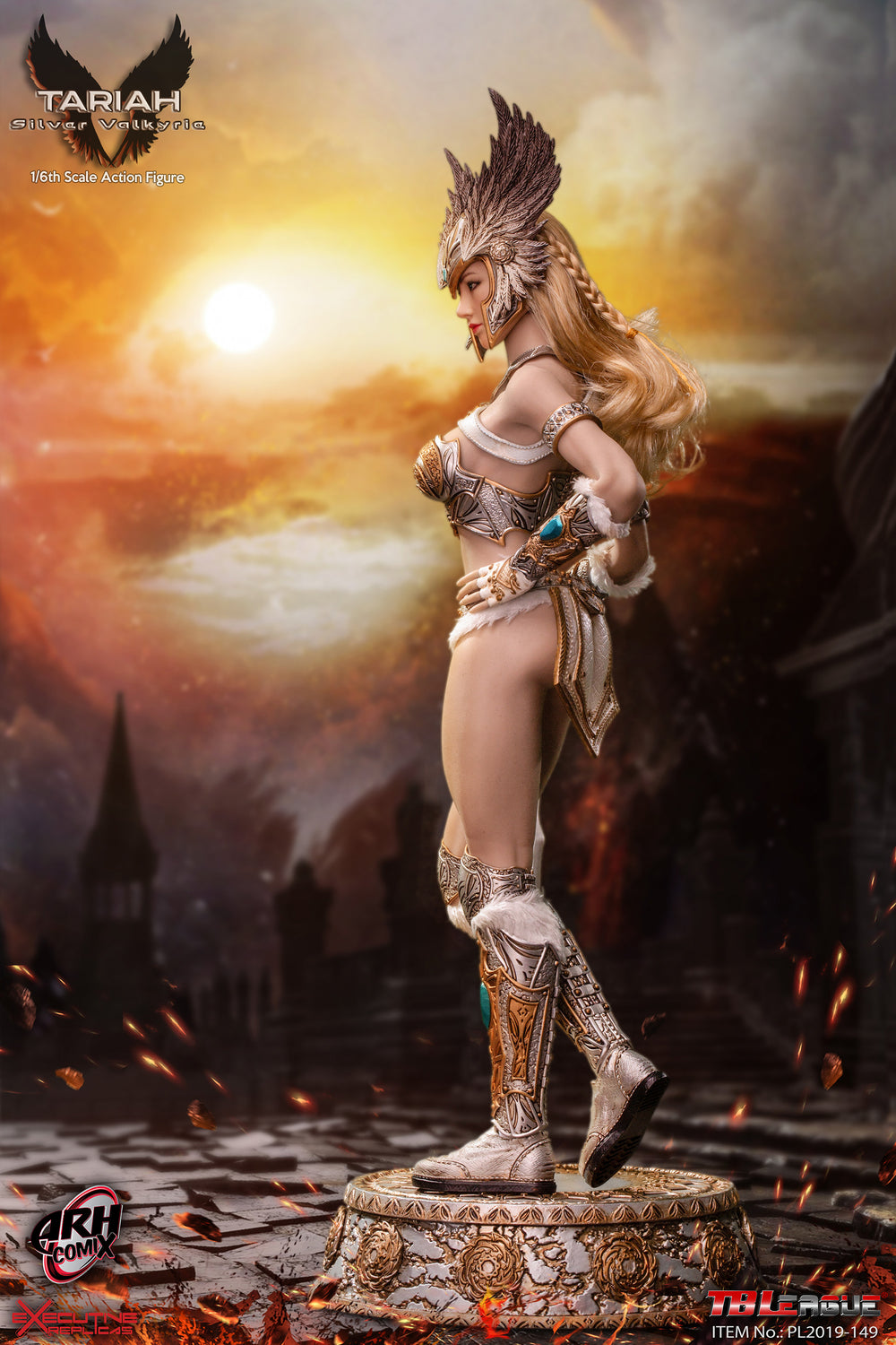 Breastplate for TBLeague PL2019-149 Tariah Silver Valkyrie 1//6 Scale Action