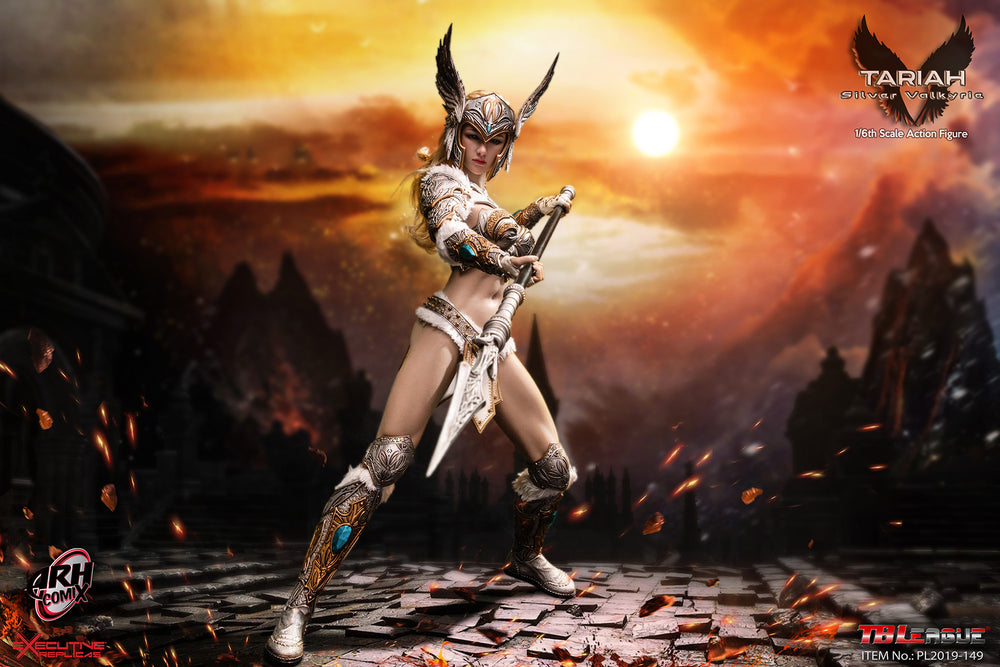 Phicen TBLeague Tariah Silver Valkyrie 1/6 Action Figure