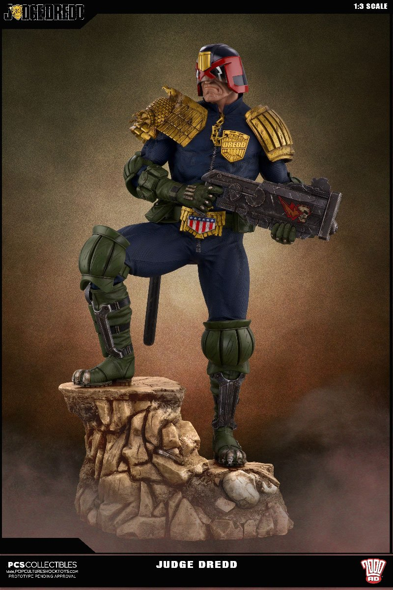 Pop Culture Shock 2000AD Judge Dredd 1/3 Statue