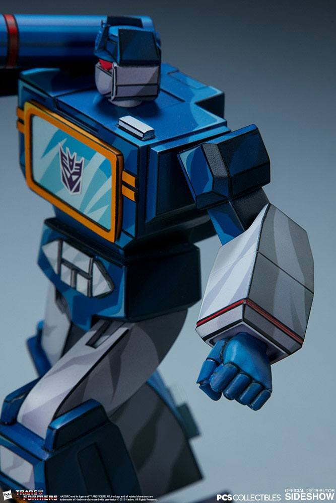 Pop Culture Shock Transformers Soundwave Classic Scale Statue