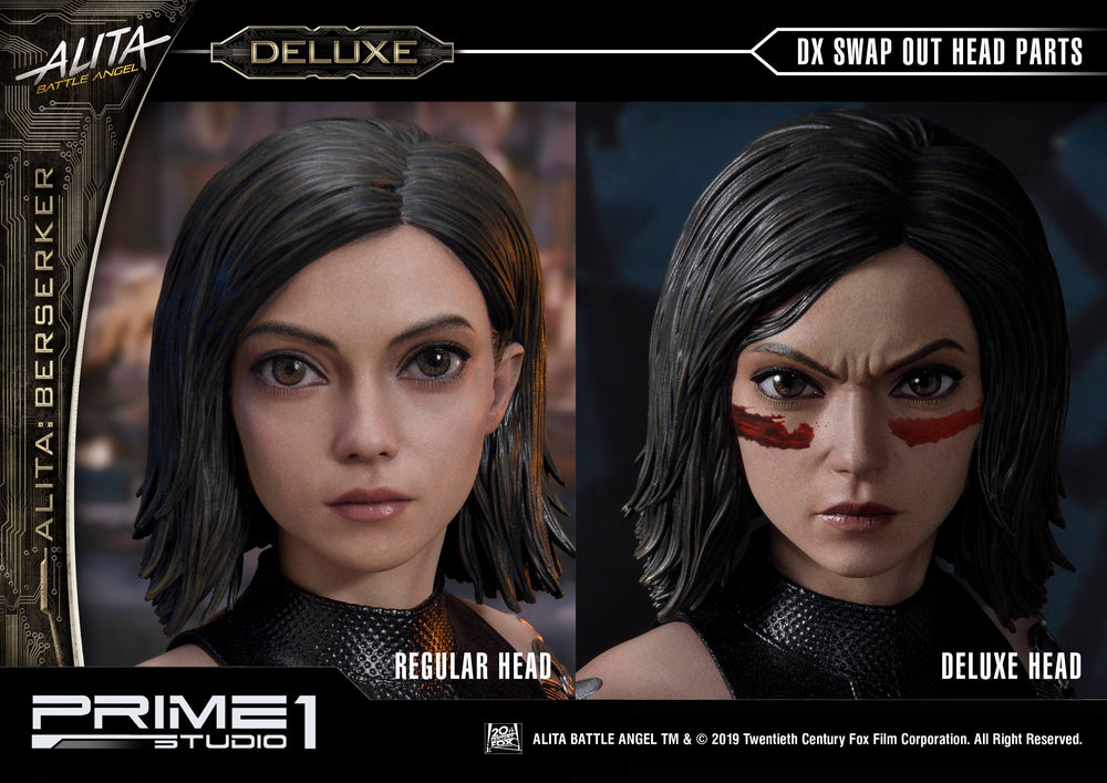 Prime 1 Studio Alita: Battle Angel Alita Berserker Deluxe Version 1/4 Statue