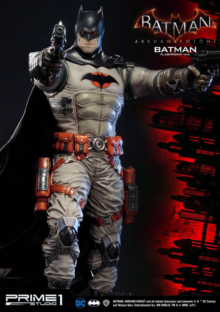 Prime 1 Studio Batman Arkham Knight Batman Flashpoint Version Statue