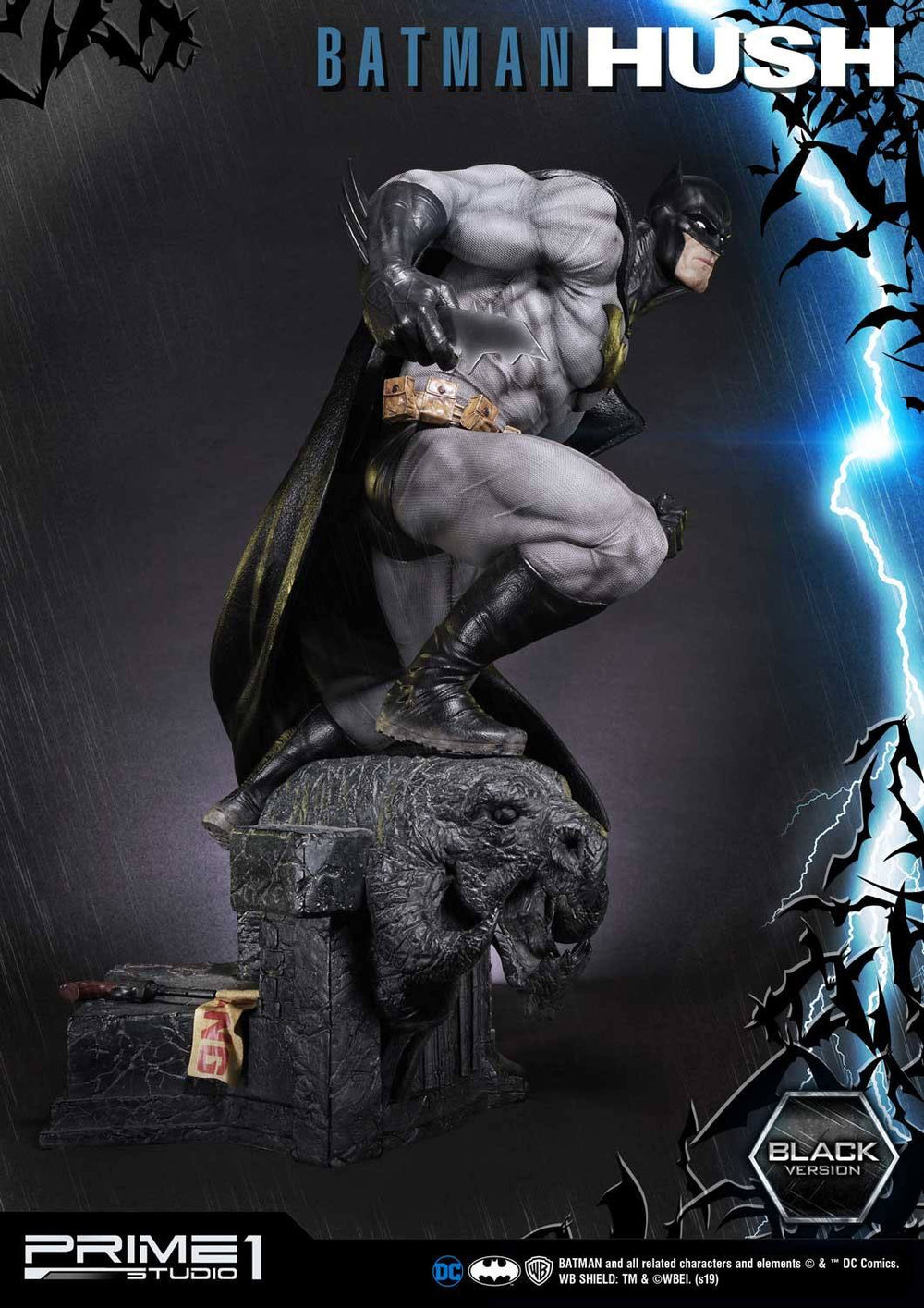 Prime 1 Studio Batman Hush Batman Black Version 1/3 Statue