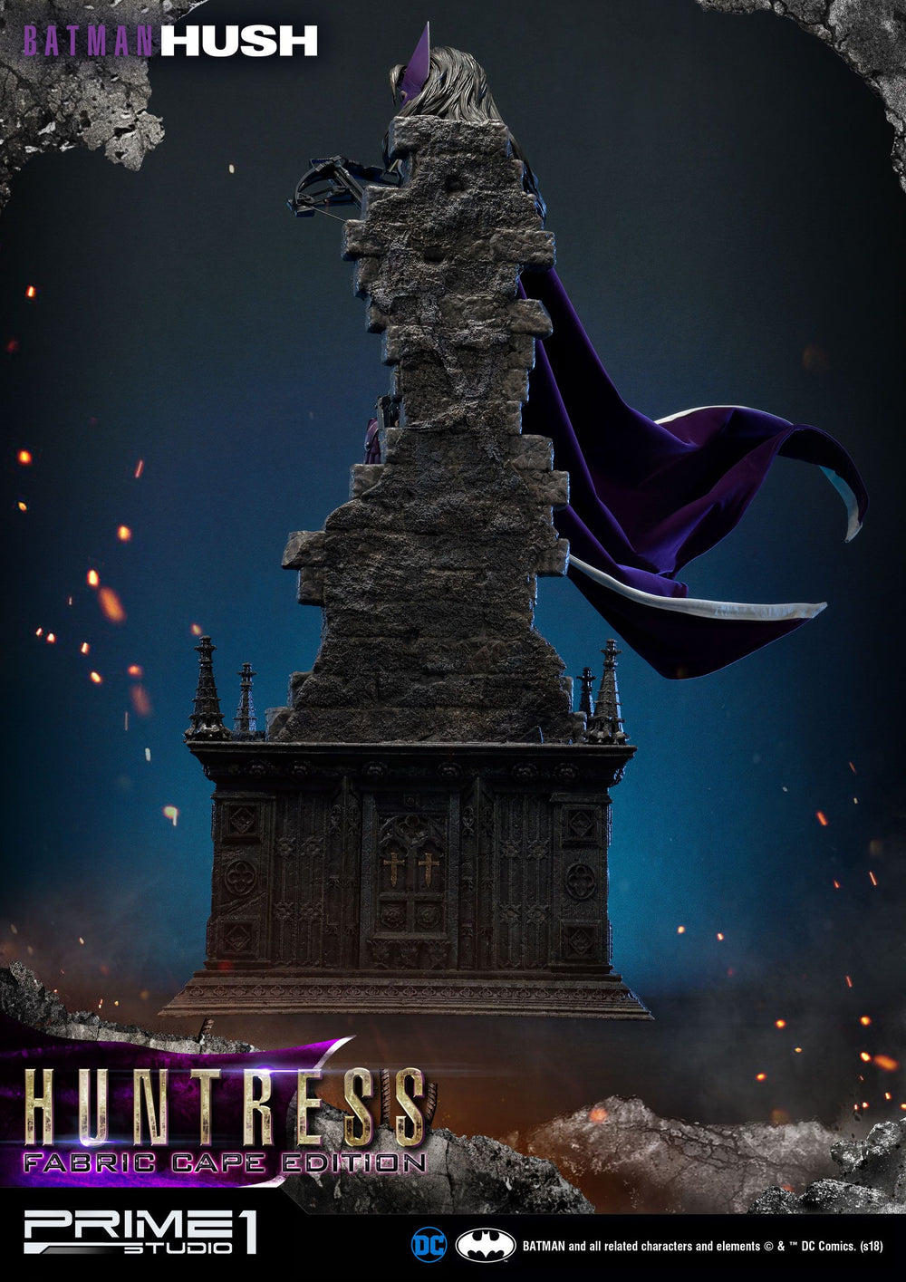 Prime 1 Studio Batman Hush Huntress Fabric Cape Edition 1/3 Statue