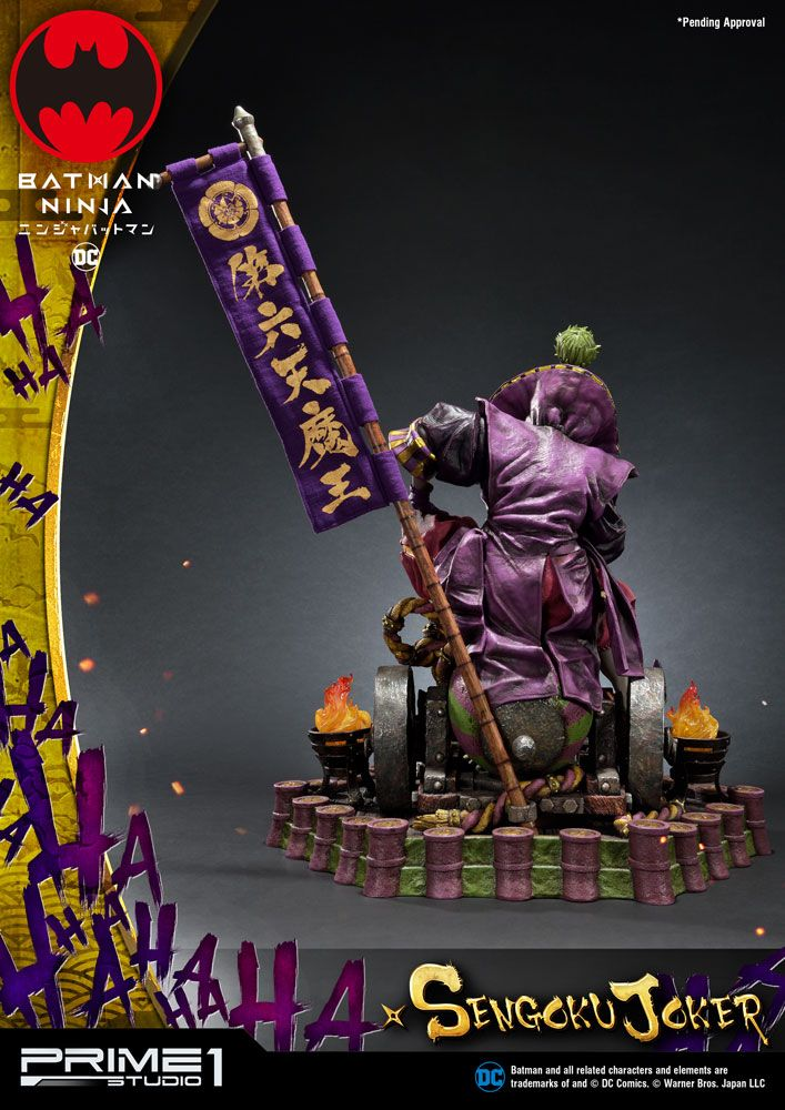 Prime 1 Studio Batman Ninja Sengoku Joker Deluxe Version Statue