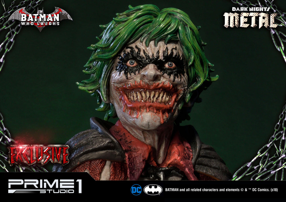Prime 1 Studio DC Comics Dark Nights: Metal Batman Who Laughs Exclusive Version 1/3 Statue