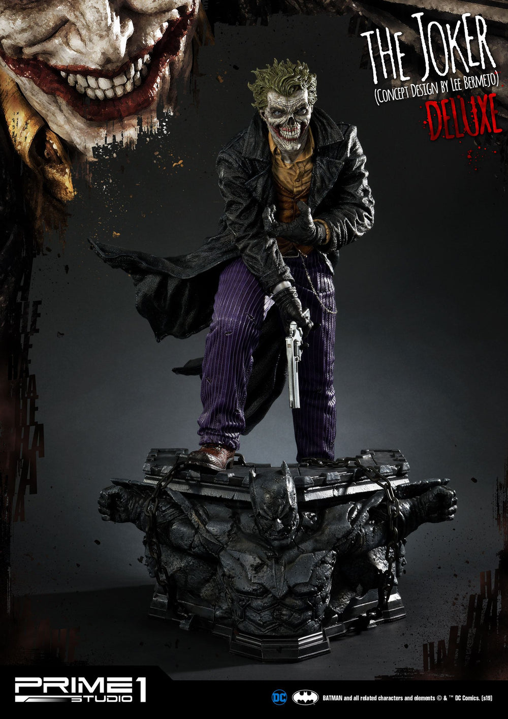 Prime 1 Studio DC Comics The Joker by Lee Bermejo Deluxe Version Statue