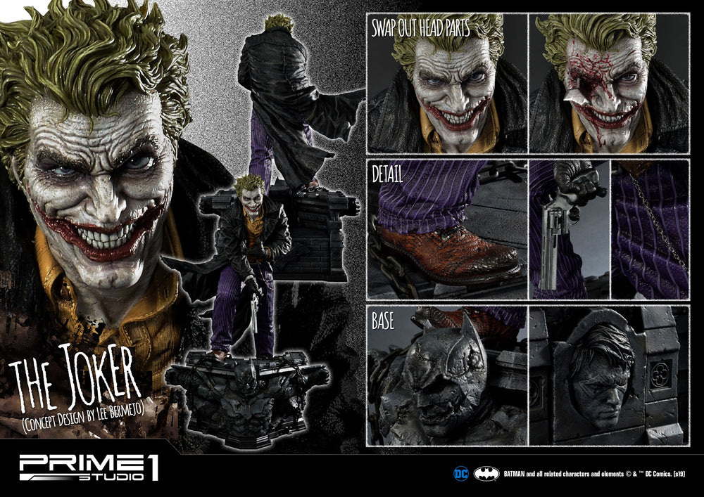 Prime 1 Studio DC Comics The Joker by Lee Bermejo Statue