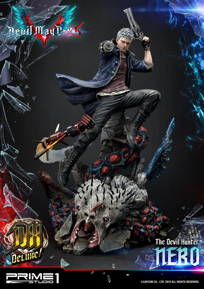 Prime 1 Studio Devil May Cry 5 Nero Deluxe Version Statue