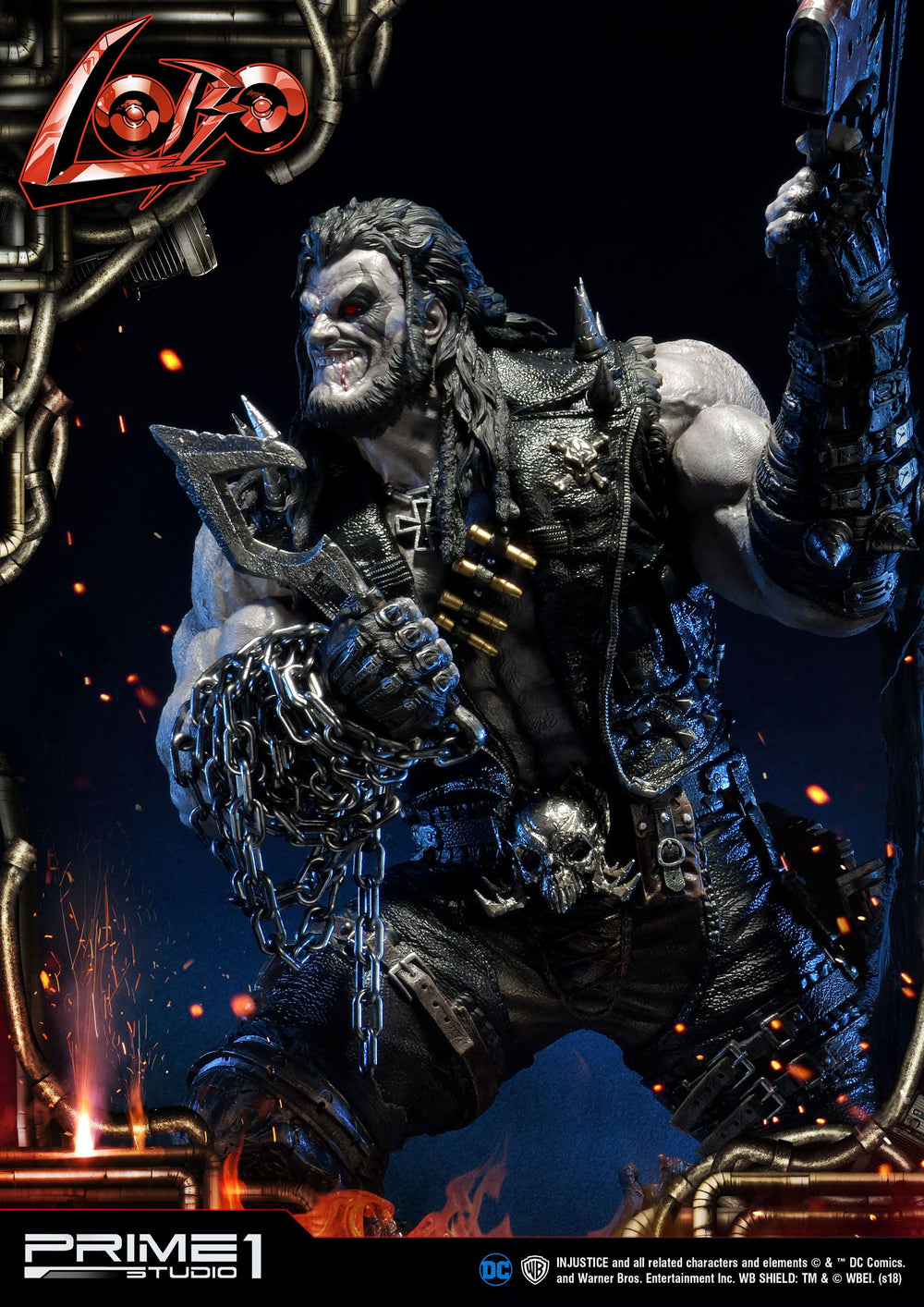 Prime 1 Studio Injustice Gods Among Us Lobo 1/3 Statue