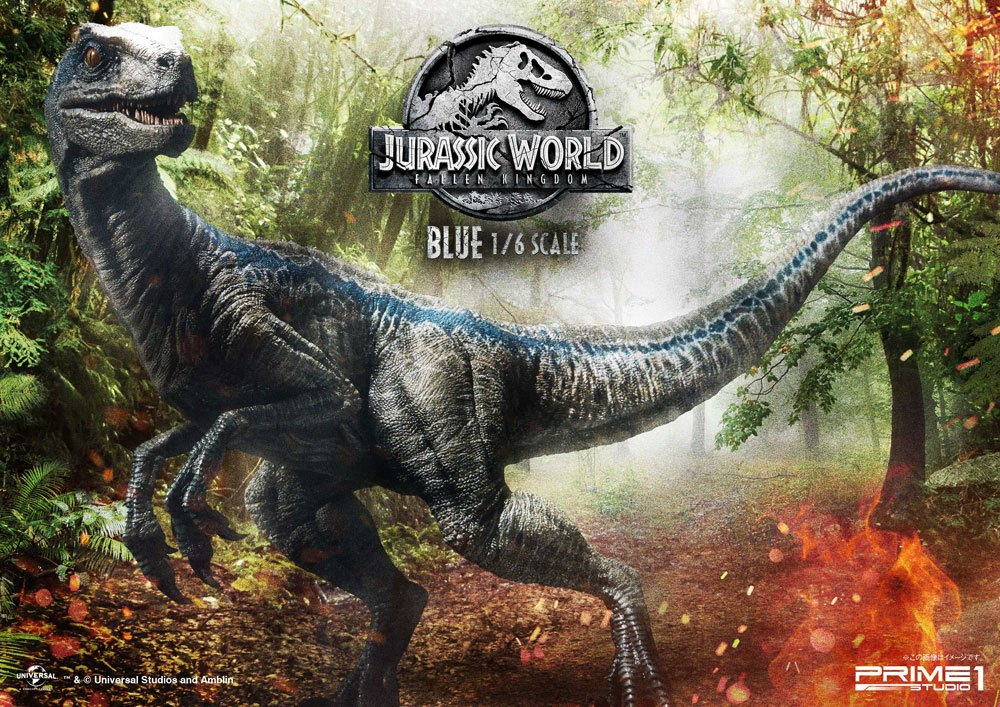 Prime 1 Studio Jurassic World: Fallen Kingdom Blue 1/6 Statue