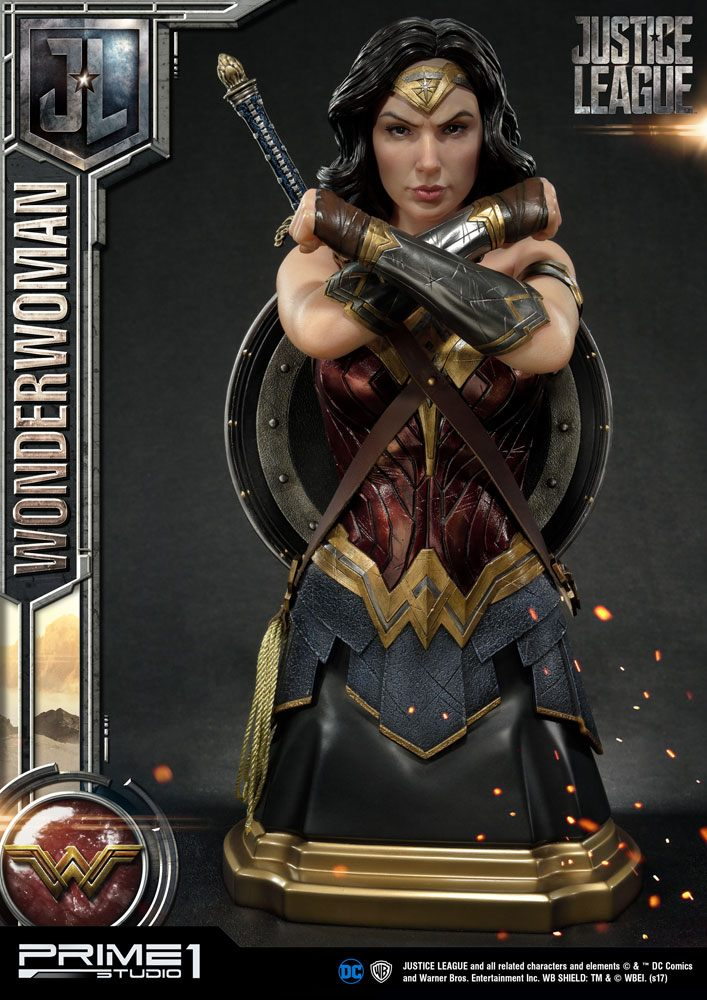 Prime 1 Studio Justice League Wonder Woman Bust Statue