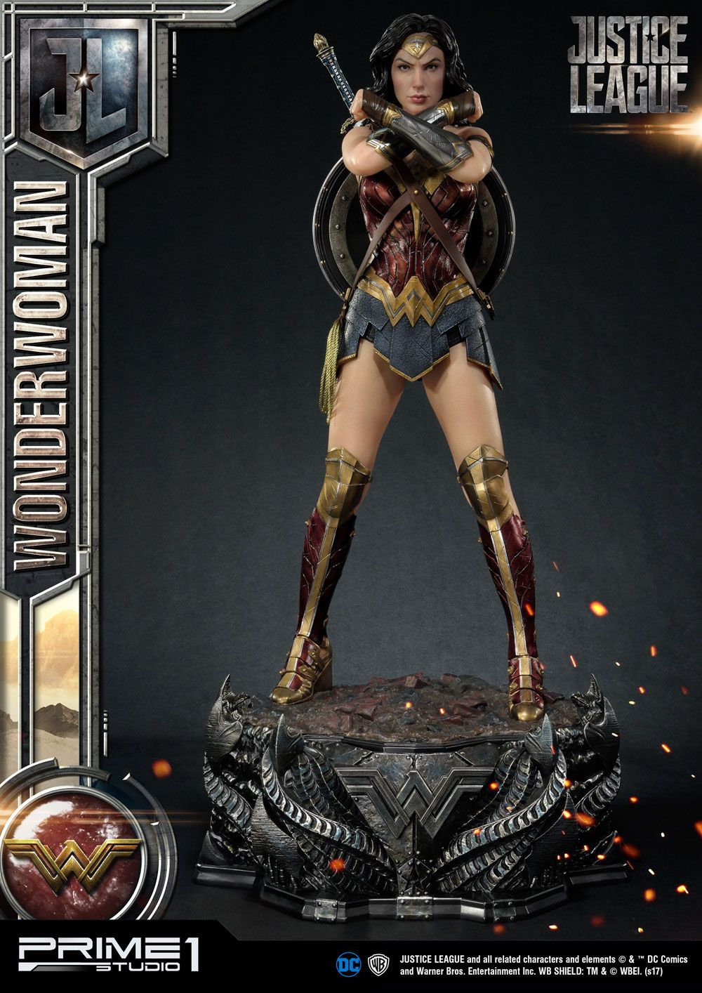 Prime 1 Studio Justice League Wonder Woman Statue