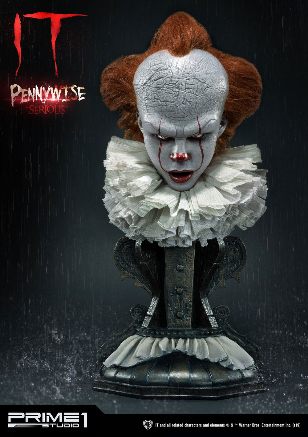 Prime 1 Studio Stephen King's It 2017 Pennywise Serious, Dominant & Surprised 1/2 Bust 3-Pack