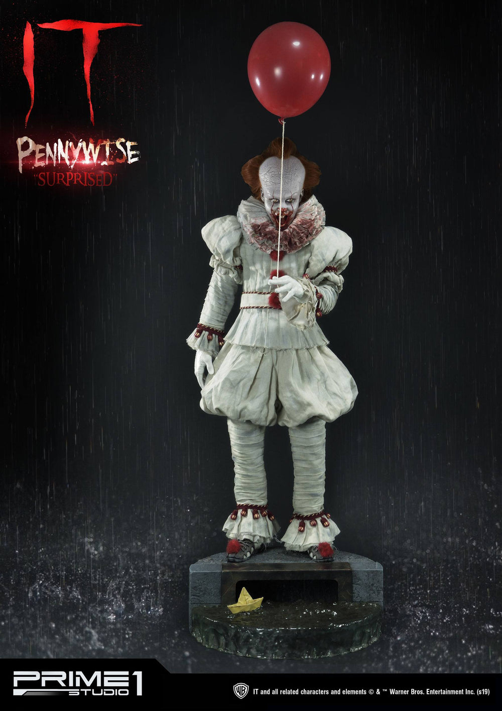 Prime 1 Studio Stephen King's It 2017 Pennywise Surprised 1/2 Bust