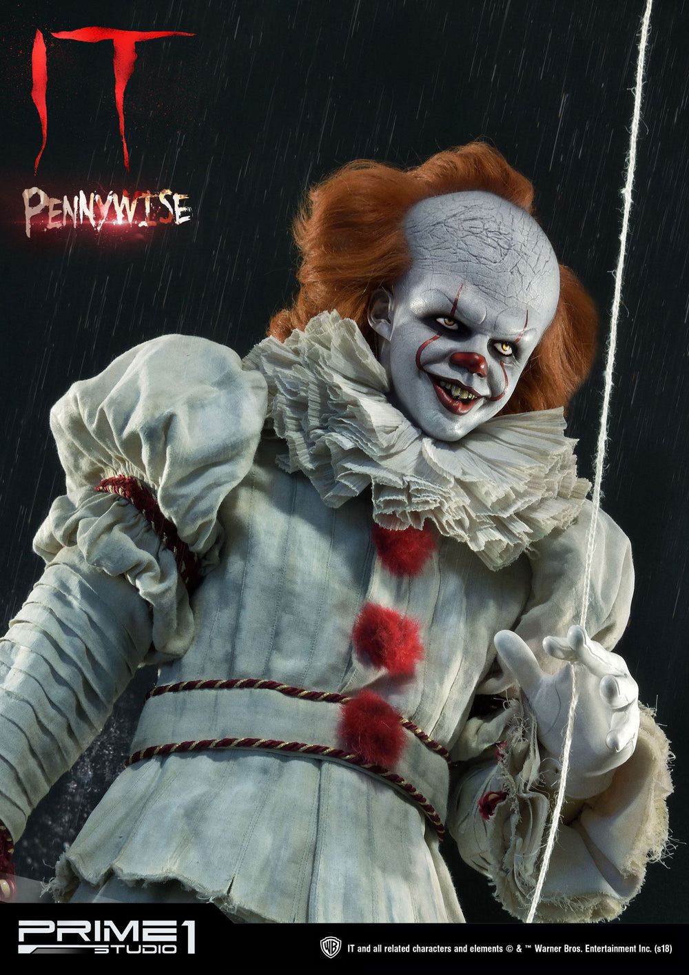 prime  studio stephen kings  pennywise  statue  figures
