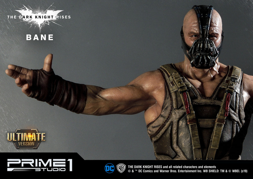 Prime 1 Studio The Dark Knight Rises Bane Ultimate Edition 1/3 Statue & Bust Set