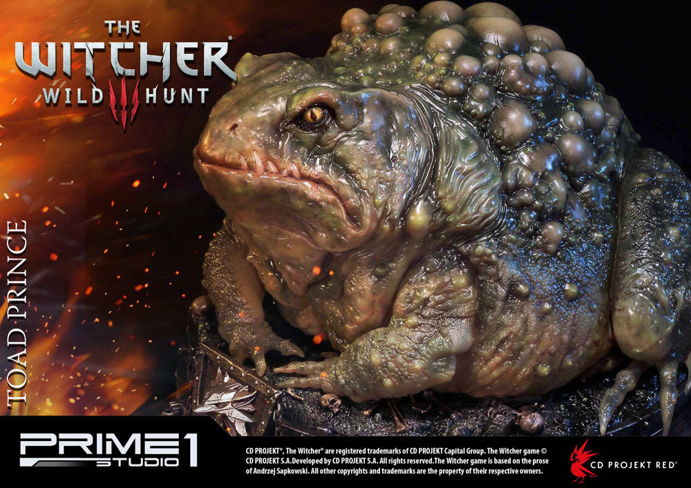 Prime 1 Studio Witcher 3 Wild Hunt Toad Prince of Oxenfurt Statue