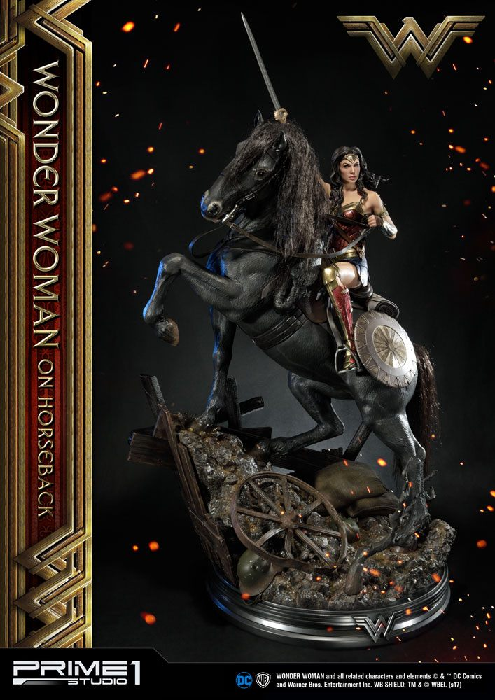 Prime 1 Studio Wonder Woman Movie Wonder Woman on Horseback Statue