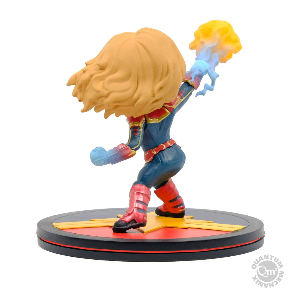 Quantum Mechanix Captain Marvel Q-Fig Diorama Statue