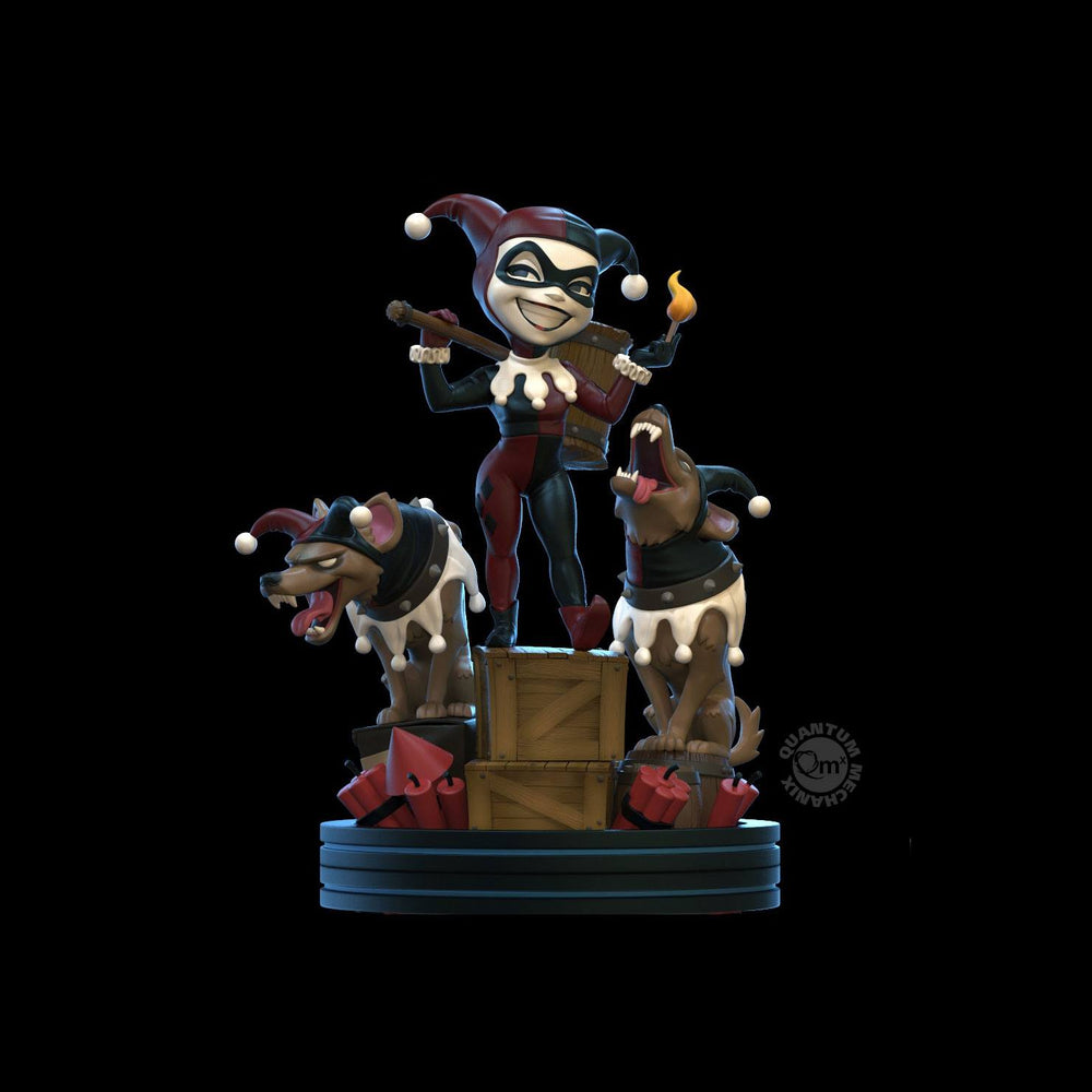 Quantum Mechanix DC Comics Harley Quinn Remastered Q-Fig Statue