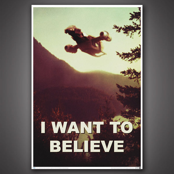 Quantum Mechanix Firefly I Want To Believe Poster - Movie Figures - 1