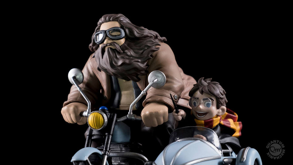 Quantum Mechanix Harry Potter & Rubeus Hagrid Q-Fig MAX Diorama Statue