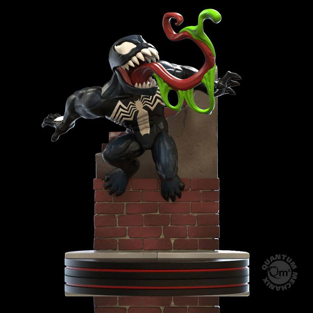 Quantum Mechanix Marvel Venom Q-Fig Diorama Statue