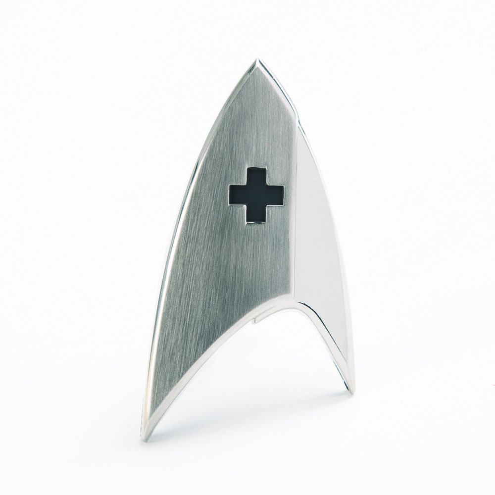 Quantum Mechanix Star Trek Discovery Starfleet Medical Division Badge Prop Replica